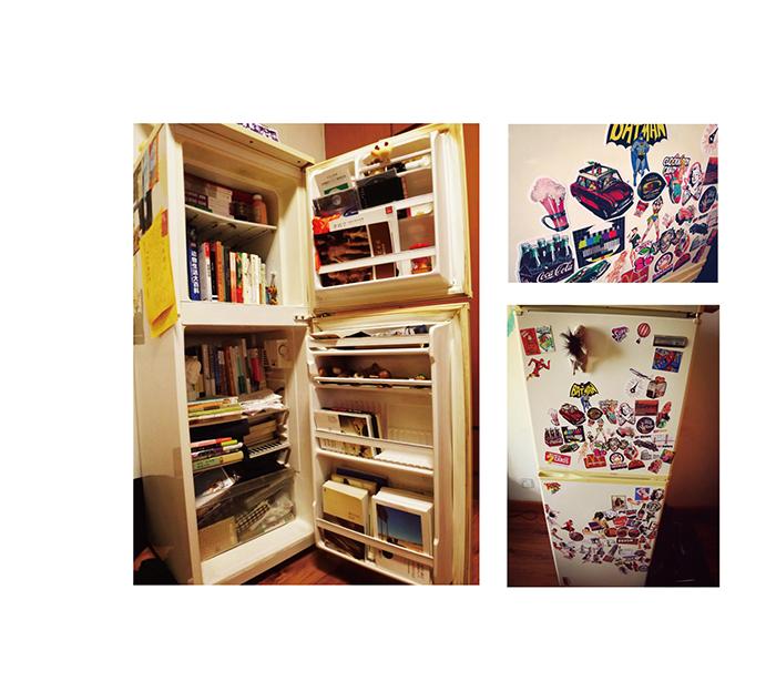 欧式书柜插画