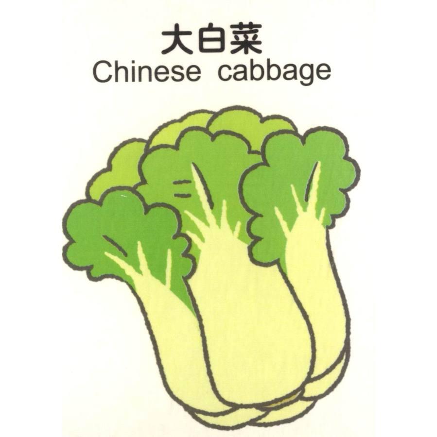 味的水果蔬菜》可爱简笔画