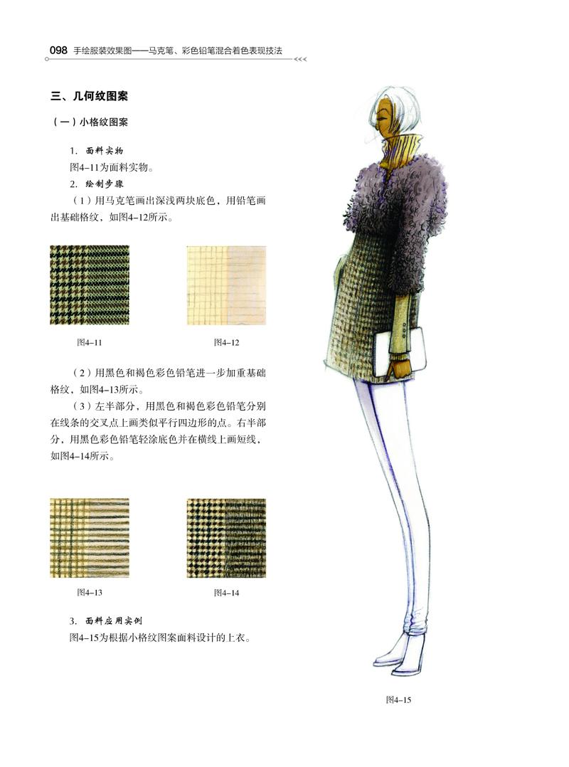 手绘服装效果图——马克笔