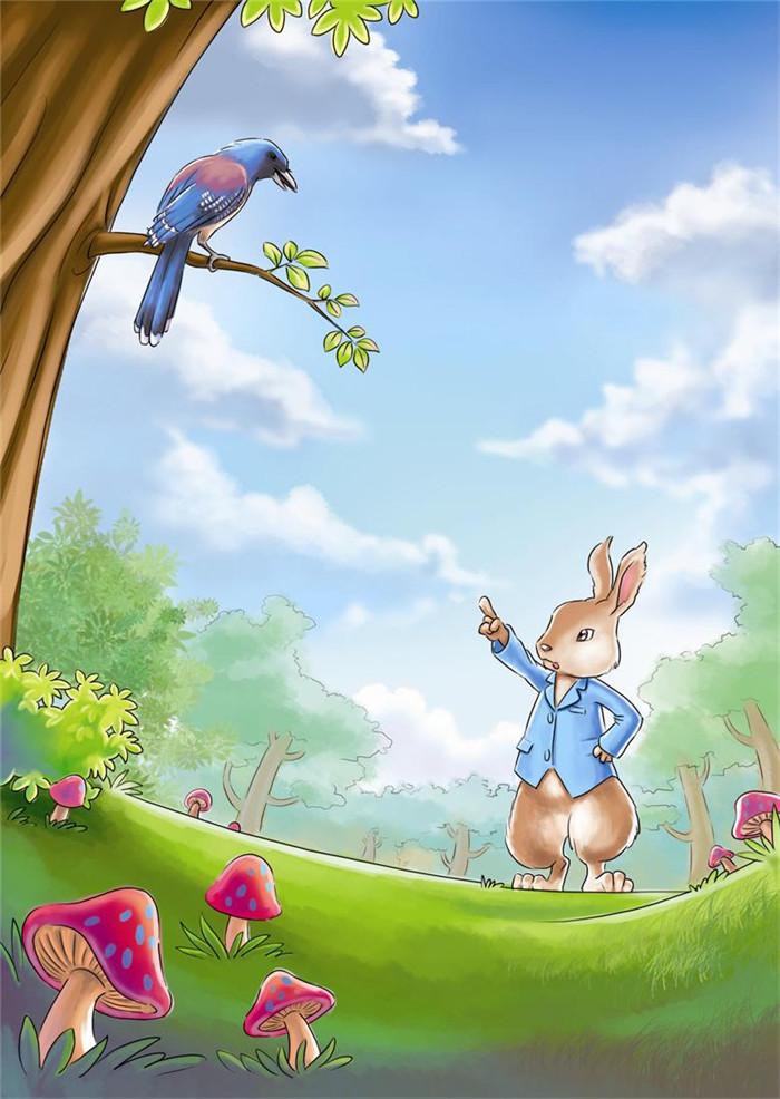 西风妈妈和小动物们的故事61爱听故事的兔子彼得
