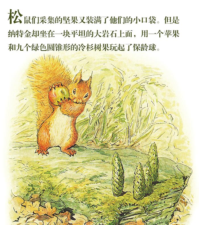 那么,您一定会喜欢《小兔彼得和他的朋友们》,看看,那么多可爱的动物