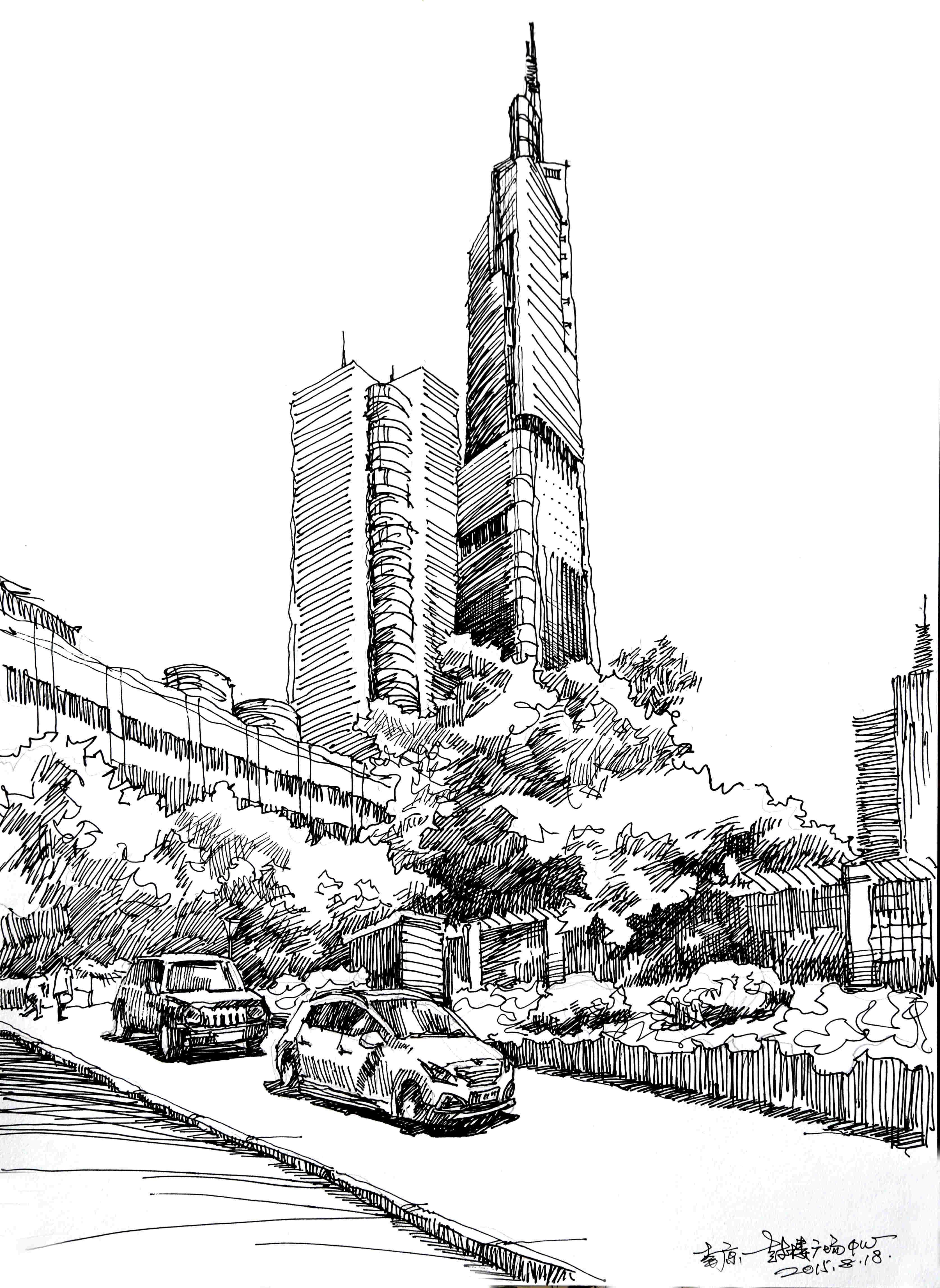 建筑·场景手绘表现109例