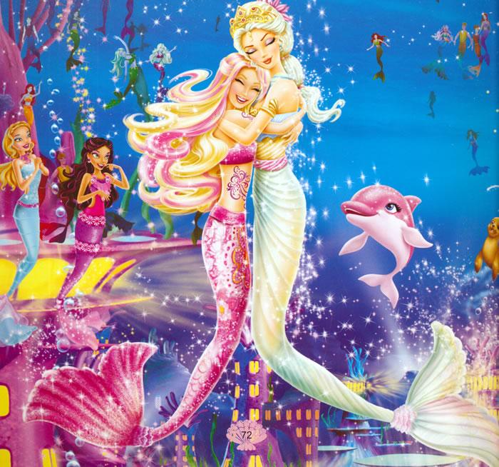 《芭比小公主影院畅销版芭比之美人鱼历险记》-芭比小公主影院 蝴蝶