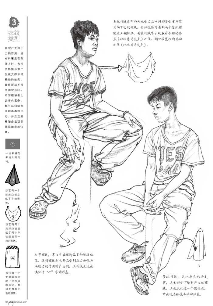 名师联盟:爱临摹 人物速写 丛羿霖,丛弈霖 9787229101848 重庆出版社