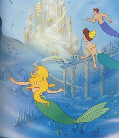 迪士尼永恒经典(珍藏版):小美人鱼