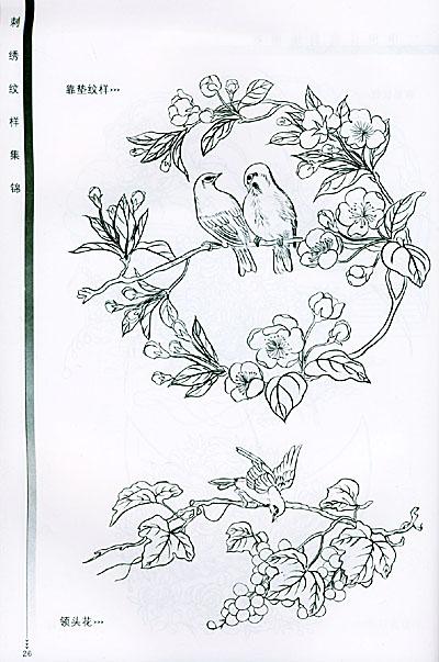 花卉適合紋樣設計圖片展示