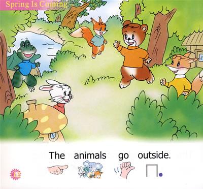 幼儿英语阅读画册(3b共6册)