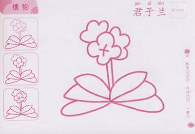 儿童蒙纸描画大全(上)