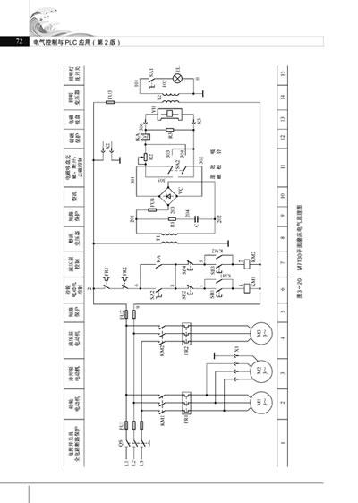 plc自动门继电器接线图