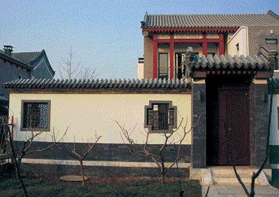 """8     """"中式宅院""""的设计是从传统建筑中吸取精华,同时注重体现地域性图片"""