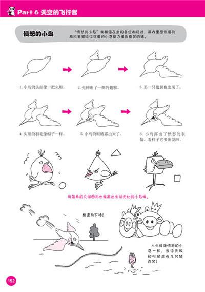 鳄鱼简单画法步骤