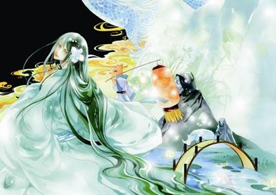 正版《浮生物语》:最美古风动漫幻想小说