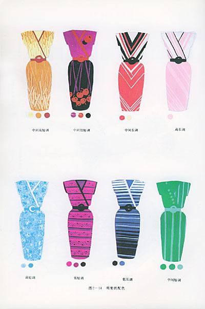 本丛书共分四册:《服装美术基础》;《服装造型设计》;《服装结构和