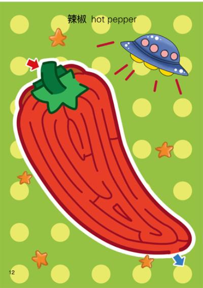 生活中比较常见的水果蔬菜