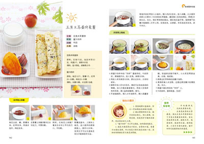 照着上面的菜谱做菜,既可以省去想做什么的时间,又有详细的操作步骤!图片