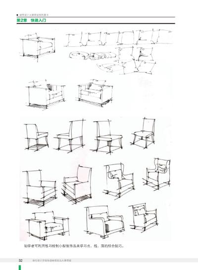 室内设计手绘效果图表现教程 室内设计手绘快速表现技法火星课堂(1dvd