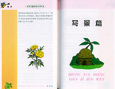 中学生限字作文(600字彩色作文)