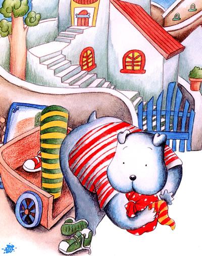 《大狗和小兔枕头图画书——中国原创图画书》