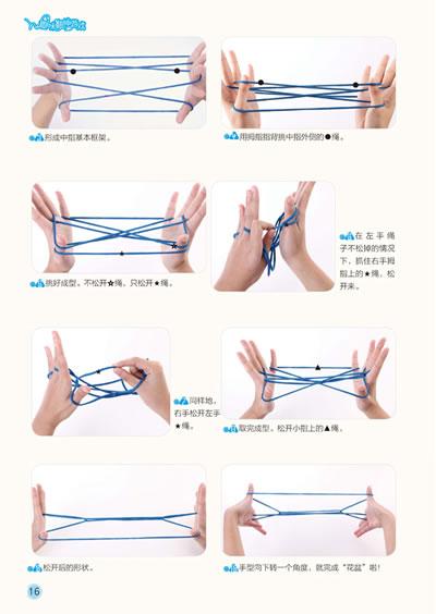 翻绳降落伞图解步骤