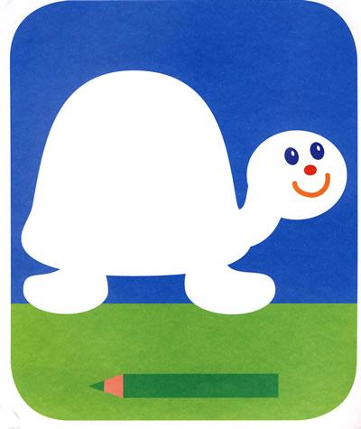 宝宝爱涂色可爱的小动物二/20801565