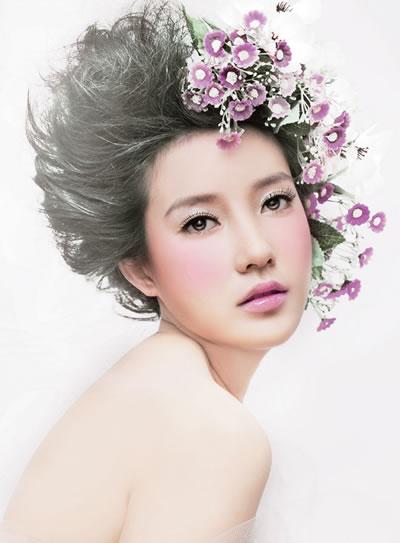 韩式新娘造型实战