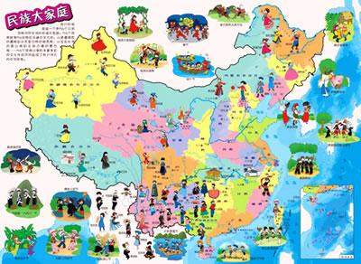 中国地图·世界地图·动物地图(书包版,共3册,在地图上阅读百科知识)